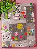 30'' X 100' Polka Dot Pets Gift Wrap