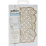 Spellbinders S4-528 Shapeabilities Decorative Strips Victorian Garden Foliage Lattice Etched/Wafer Thin Dies