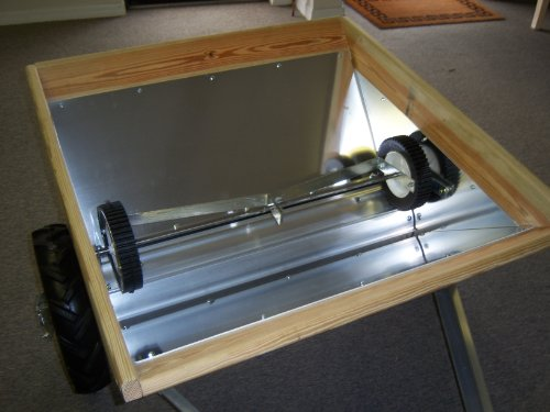 Home Built Manure Spreader : Newer spreader model basic unit lawn garden snow