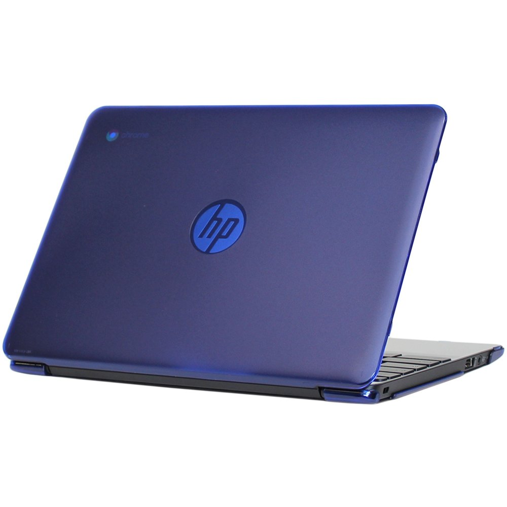 mCover – Carcasa rígida para HP Chromebook 11 Azul Azul 11.6