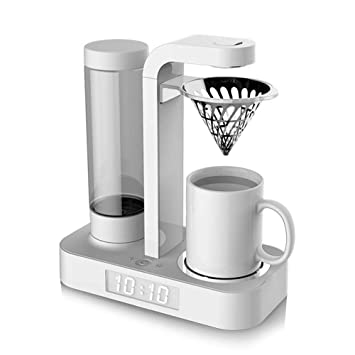 VATHJ Máquina de té automática máquina de té de goteo lavado a mano taza cafetera cafetera mini reloj máquina de café: Amazon.es: Hogar