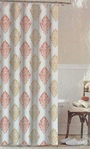 Image Unavailable Not Available For Color Colordrift Fading Damask Shower Curtain