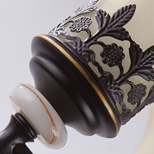 Retro Luxury Iron Wall Lamp Living Room Decoration Wall Lamp Bedroom Bedside Lamp Bathroom Mirror Front Light Stairway Aisle Lights by Crystal (Image #3)