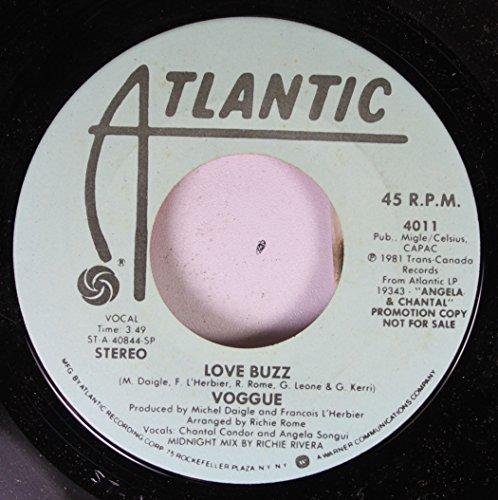 Voggue 45 RPM Love Buzz / Love Buzz