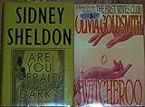 2 Large Print Hardback Books (Are You Afraid of the Dark By Sidney Sheldon & Switcheroo By Olivia Goldsmith)