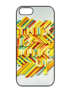 Hot Sell This Is Made Up 3 3D Pattern Rubber TPU Gel Case For Iphone 5/5s
