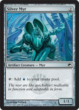 Magic: the Gathering - Silver Myr - Scars of Mirrodin