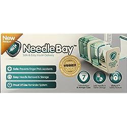 NeedleBay System 7 Diabetes Medication System, 18.8 Ounce