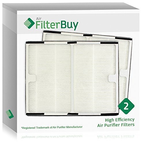 2 - FilterBuy Idylis A Filters; Idylis # IAF-H-100A. Design by FilterBuy to fit Idylis Air Purifiers IAP-10-100 & IAP-10-150.