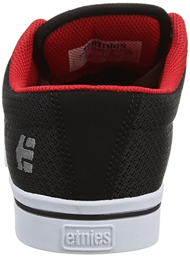 Etnies Jameson 2 Eco, Color: Black/White/Red, Size: 41 Eu / 8 Us / 7 Uk