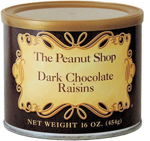 The Peanut Shop Dark Chocolate Raisins - 16 Oz. ()