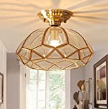 XUEXIN American Ceiling Lamp for Bedroom Balcony Kitchen Lights Hallway Chandeliers, White light