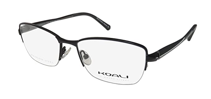 b203d06b37 Koali By Morel 7715k For Ladies Women Designer Half-rim Flexible Hinges Hot  Stainless
