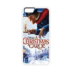 Christmas Carol iPhone 6 Plus 5.5 Inch Cell Phone Case White SOG