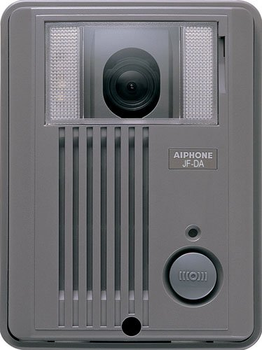 Aiphone JF-DA Surface-Mount Audio/Video Door Station for JF Series Intercom System, ABS Plastic Housing by Aiphone