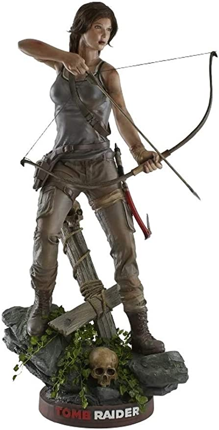 Amazon Com Lm Treasures Tomb Raider Lara Croft 5 Life Size Statue