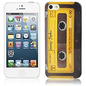 Tape Pattern Hard Protection Case for iPhone 5