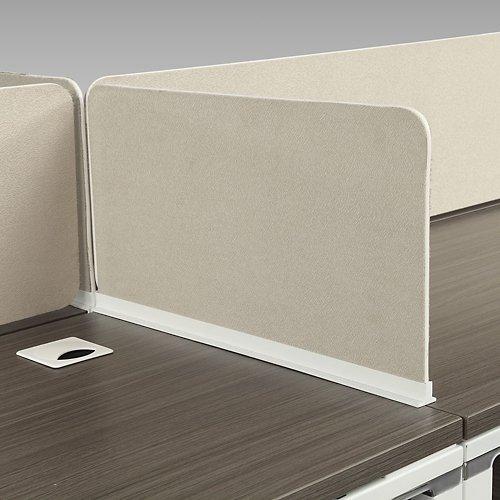 Element Fabric Desktop Divider 22''W 1742 Beige Fabric by NBF Signature Series