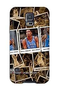 2249799K530538724 oklahoma city thunder basketball nba NBA Sports & Colleges colorful Samsung Galaxy S5 cases