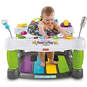 Amazon.com : Fisher-Price Superstar Step 'N Play Piano