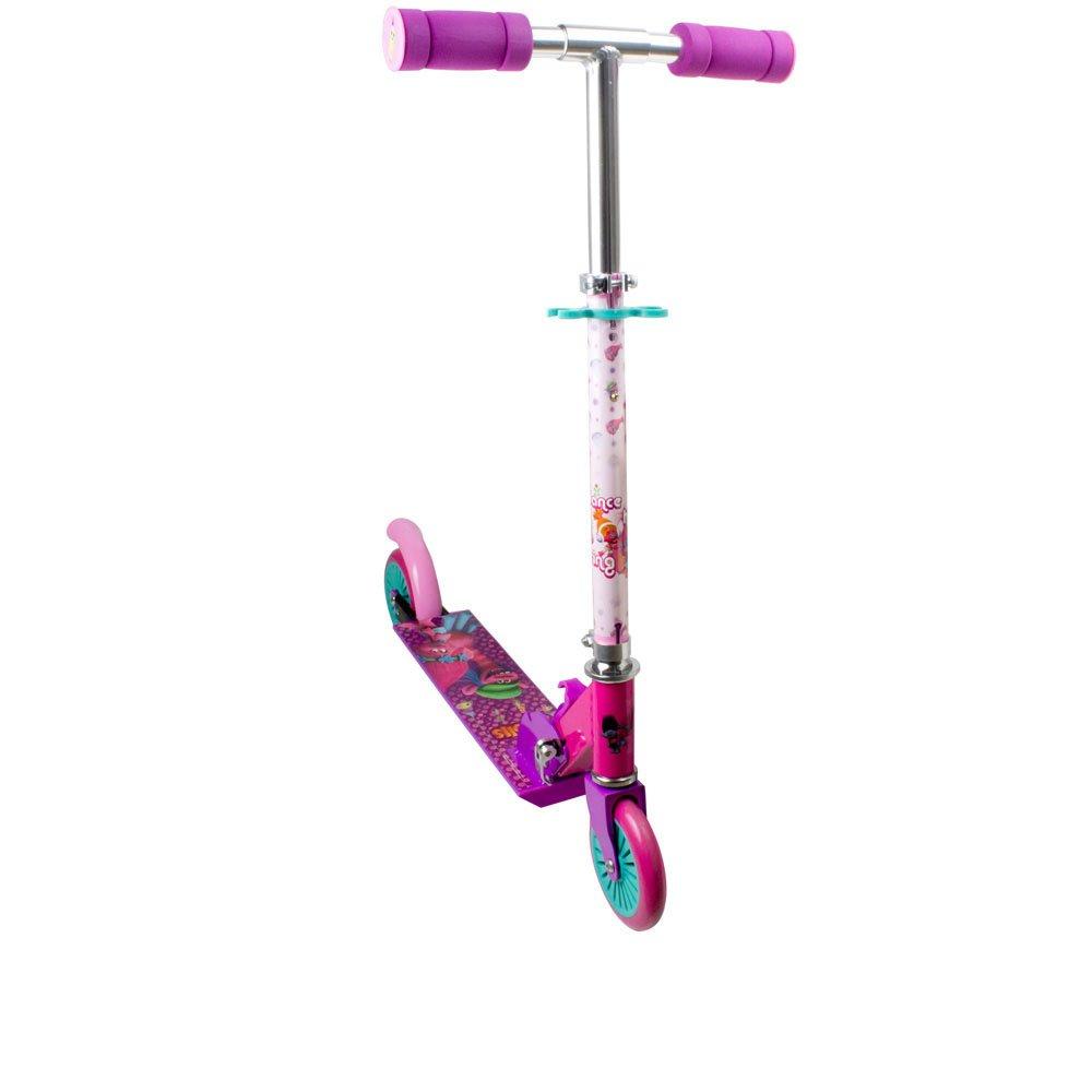 Trolls -Patinete con 2 ruedas scooter y freno trasero (Darpeje OTRO112) scooter para niña