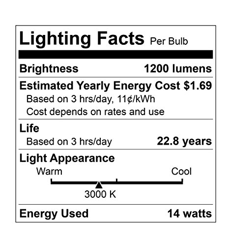 E26 Non-Dimmable LED Bulb LOT OF 8 HyperSelect 14W LED Light Bulb A21 75W to