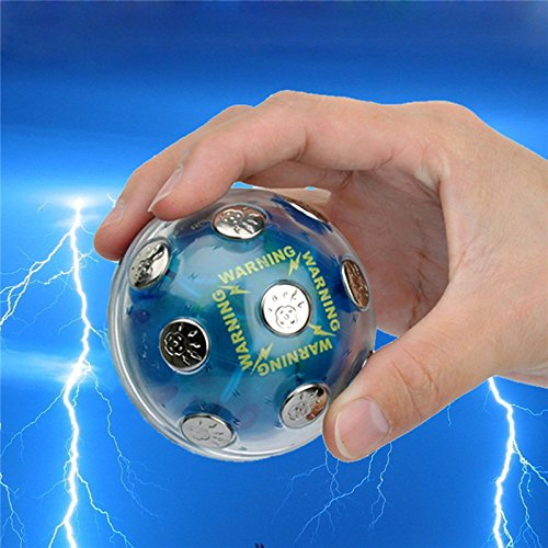New Electric Shock Ball Shocking Glowing Game Hot Potato Game Party Entertainment BY LETBO
