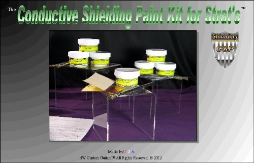 Conductive Shielding Paint for Strat's and Tele's Kit
