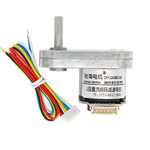 Hitommy Chihai DC 12V 240rpm Encoder Motor L Type Gear Motor by Hitommy (Image #1)