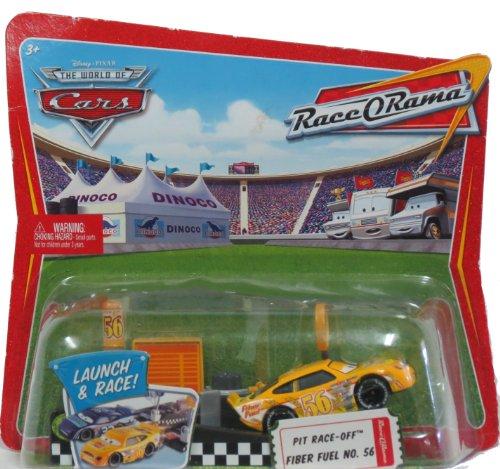 - Pixar Cars Race O Rama Launch & Race Pit Race-off Fiber Fuel No. 56