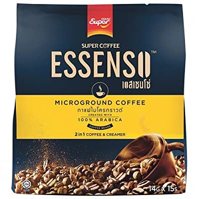 15 Sticks in Pack: Essenso, 2 in 1 Microground Coffee, 210 g