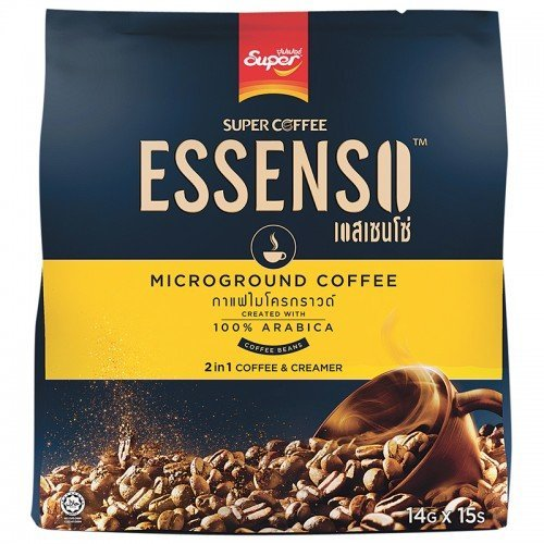 15 Sticks in Crowd: Essenso, 2 in 1 Microground Coffee, 210 g