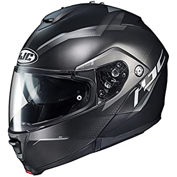 HJC Unisex-Adult Modular/Flip Up IS-MAX II Dova Helmet (MC-5SF, XXX-Large)