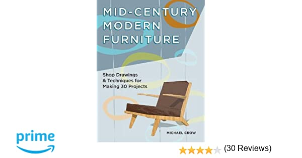 Mid Century Modern Furniture Shop Drawings Techniques For