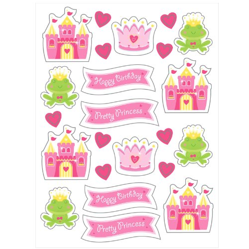 Fairytale Princess Value Stickers 4 Sheets Per -