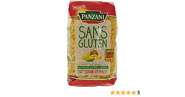 Panzani Pâtes Coquillettes sans Gluten 400 g: Amazon.es ...