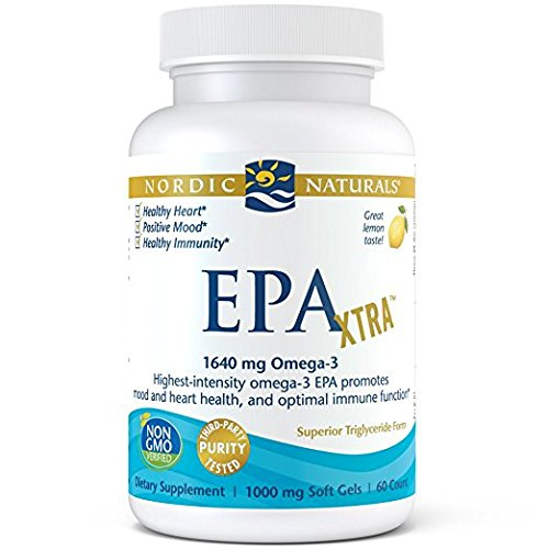 Nordic Naturals - EPA Xtra, Promotes Mood and Heart Health, and Optimal Immune Function, 60 Soft Gels (FFP)