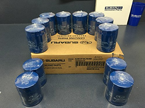 2011-2018 OEM Subaru Engine Oil Filter Case15208AA15A Geniuine Impreza Legacy Forester 12 PACK