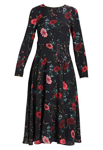 schwarz Freizeitkleid Hobbs Kleid CHLOE 42 Damen Gr ggx1Hq