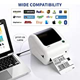 Bluetooth Thermal Shipping Label Printer - High