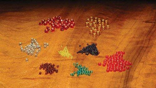 Fly Tiers Glass Beads Midge Op. Dark Blue - Glasses Dun