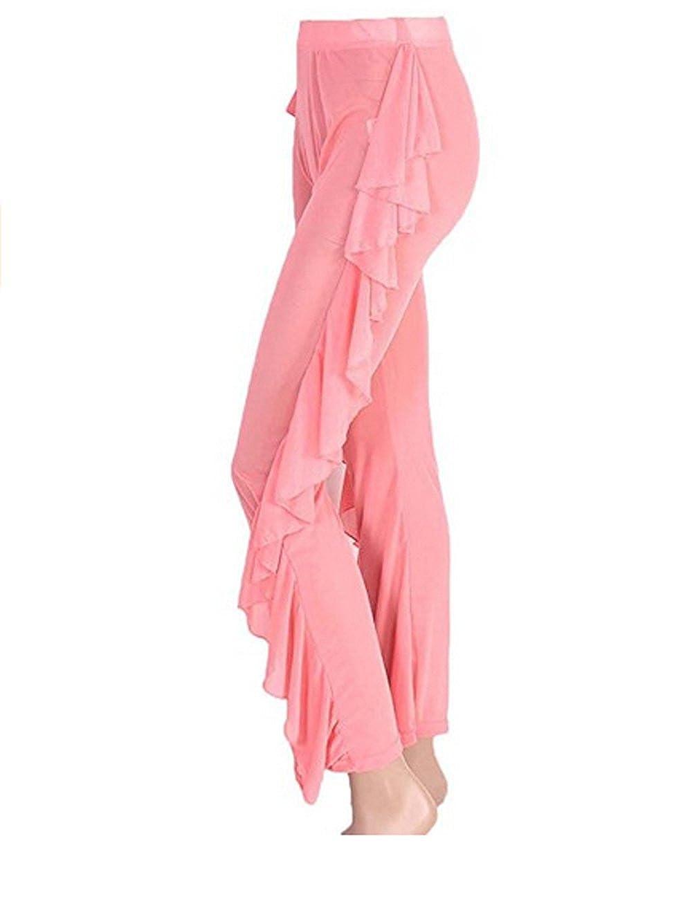 a8db41bd74 Rachel Charm Sexy Women High Waist See-Through Ruffle Sheer Bikini Bottom  Cover-up Pants: Amazon.ca: Clothing & Accessories