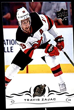e04ed6a60f4 2018-19 Upper Deck Hockey Series Two #362 Travis Zajac New Jersey Devils  Official