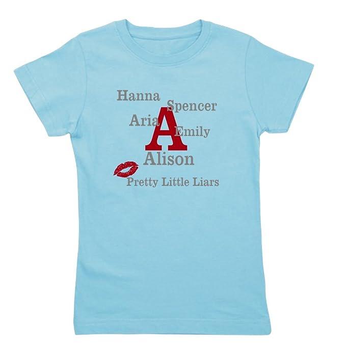 559c72862197a Amazon.com: CafePress - Pretty Little Liars - Girl's Cotton T-Shirt, Cute  Slim Fit Girl's Shirt: Clothing