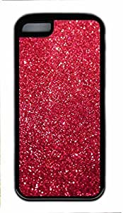 Black Case,Fashion Cool Art Sparkling Custom Protective Soft TPU Back Case Cover for iphone 5C