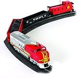Bachmann Trains Santa Fe Flyer Ready-to-Run HO Scale Train Set