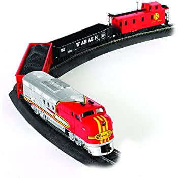 Bachmann Trains Santa Fe Flyer Ready-to-Run HO Scale Train Set