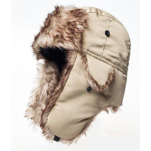 32d3fa93f8c Winter Hat Warm Cap Ushanka Russian Trooper Trapper Hunting Cold Weather