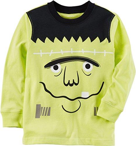 Carters Baby Boys Frankenstein T-Shirt 24 Months Green/black