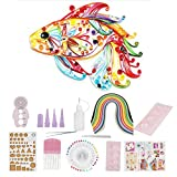 500Pcs 50 Colors Paper Quilling Strips Set Art Craft Kits Quilling Strips DIY Crafts Tool,
